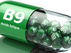 vitamine B9 ou acide folique